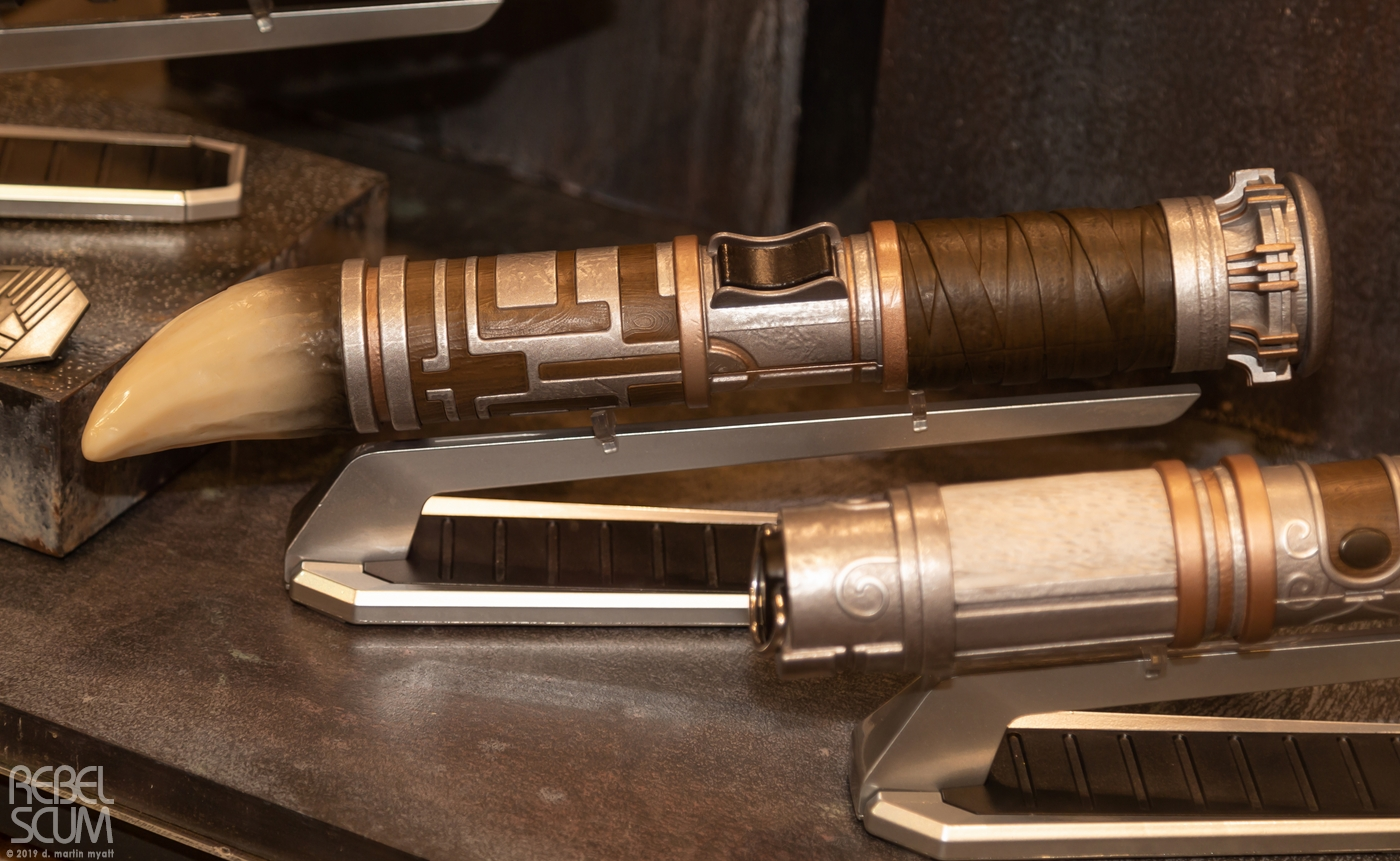 hight resolution of galaxys edge star wars celebration chicago lightsabers 04