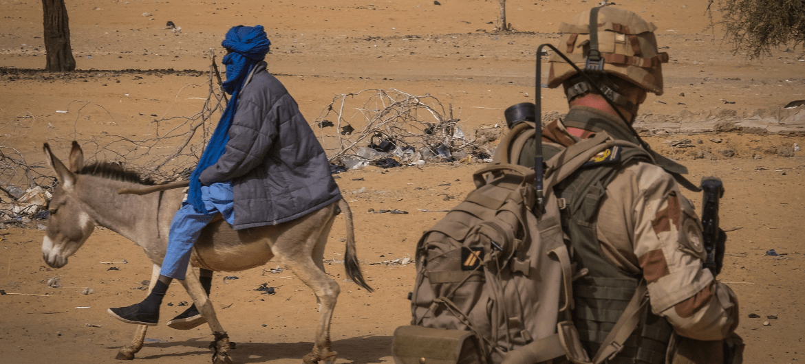 Mali French Soldier