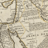 18th century map middle east