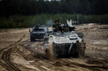The Foreign Analyst - Germany troops deployed in Lithuania as part of NATO's Enhanced Forward Presence