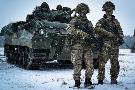 The Foreign Analyst - British troops deployed in Estonia as part of NATO's Enhanced Forward Presence