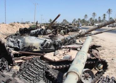 Libya tanks