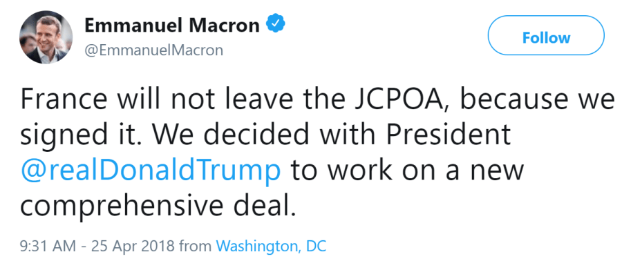 The Perspectives of the Macron-Trump Relationship for International Security Cooperation?