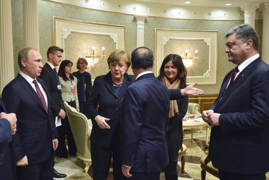 Cold War 2.0, Putin, Hollande, Merkel, 2015