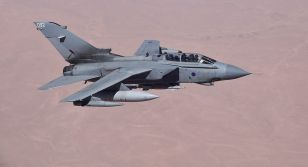The Foreign Analyst - A Tornado GR4 from the Royal Air Force deployed in Iraq as part of Operation Shader, in 2014