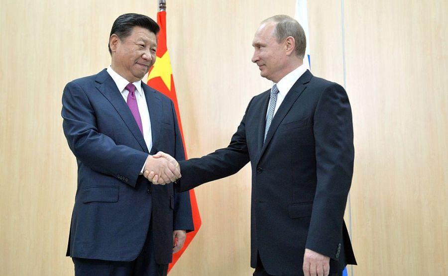 Vladimir Putin Xi Jinping BRICS summit 2015
