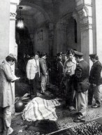 The Red Brigades killed the president of the lawyers' association Fulvio Croce in Turin, 1977