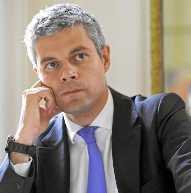 Laurent Wauquiez, leader of Les Républicains (Source: Wikimedia Commons)