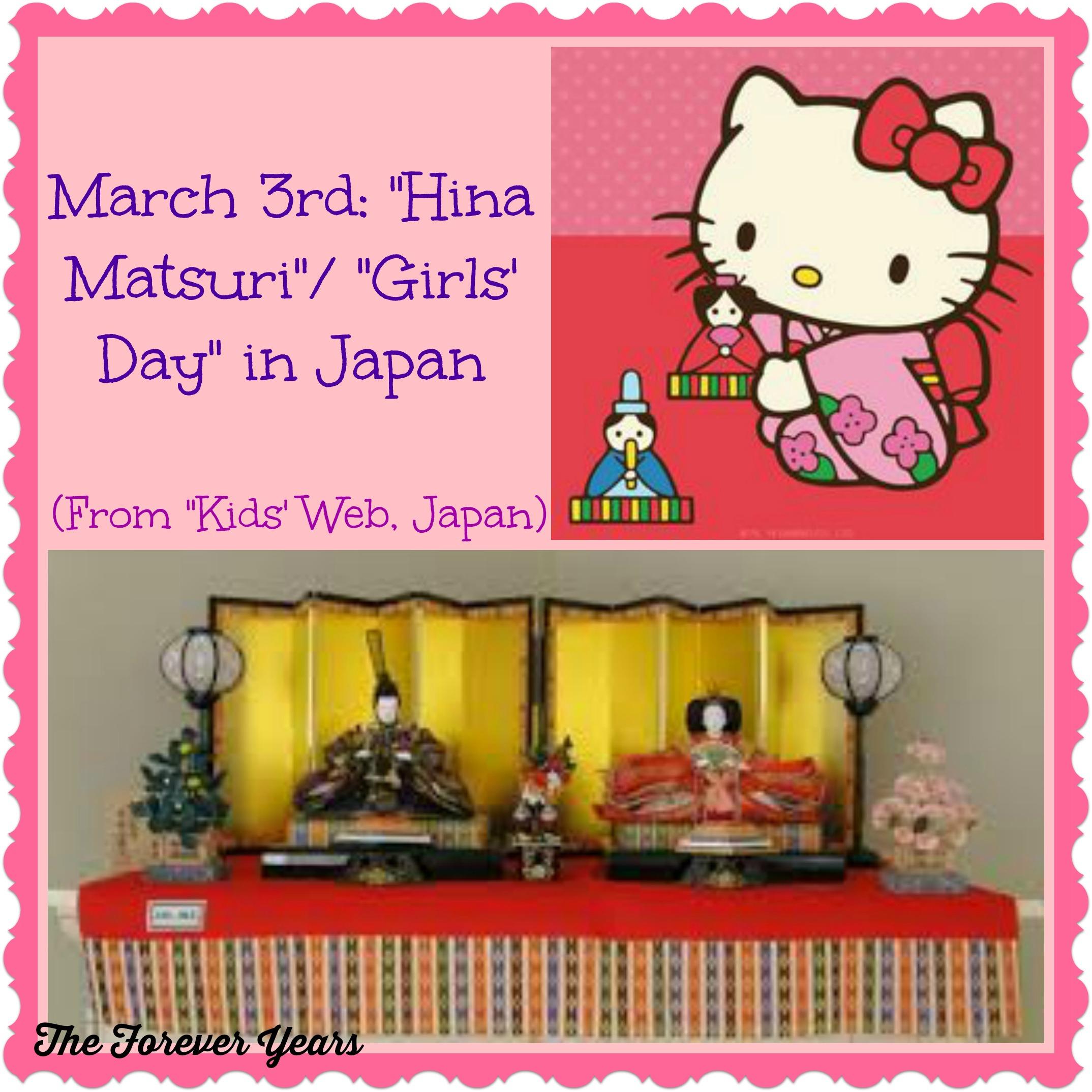 Hina Matsuri Girls Day In Japan