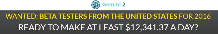 Gemini2 November 22nd Update