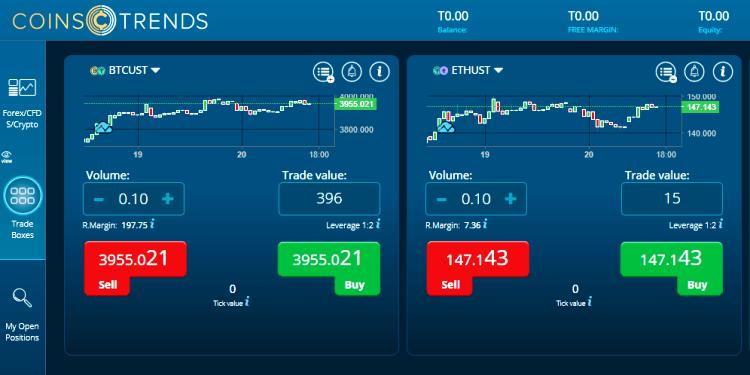 CoinTrends Broker Software