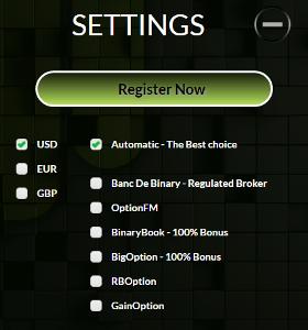 BinaDroid Account Setup