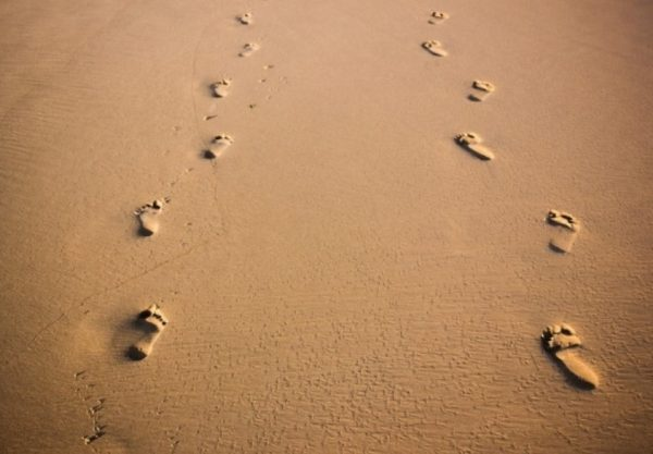 other people's footsteps
