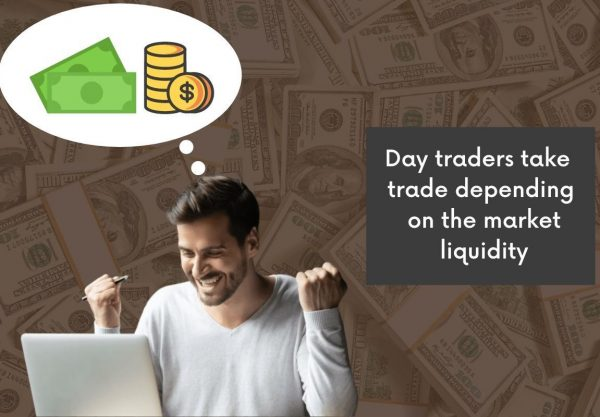 Day Trader Take trade Depending On the Market liquidity