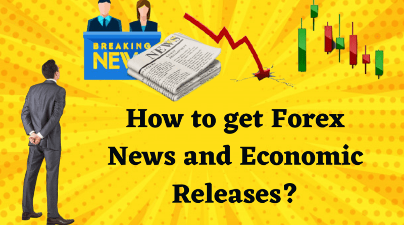 How to get Forex News and Economic Releases