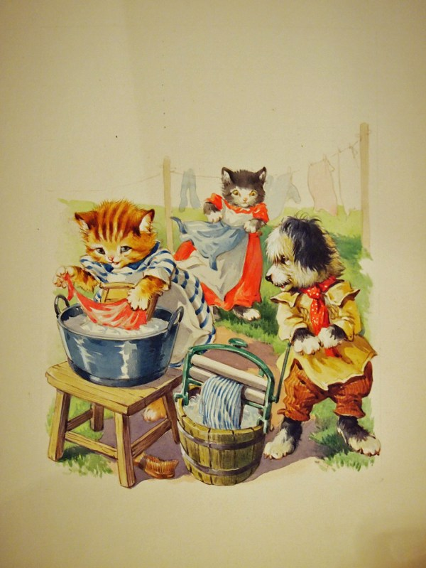 Children Book Illustrations Cats & Dogs