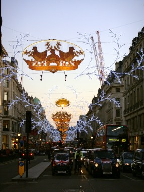 Christmas Lights, Regent Street