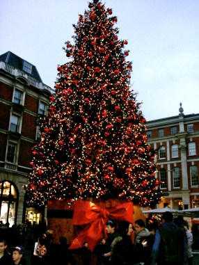 Christmas Tree, Covent Garden