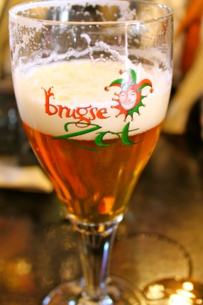 Local Bruges Beer