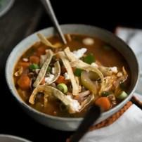 Healthy Buffalo Chicken Soup
