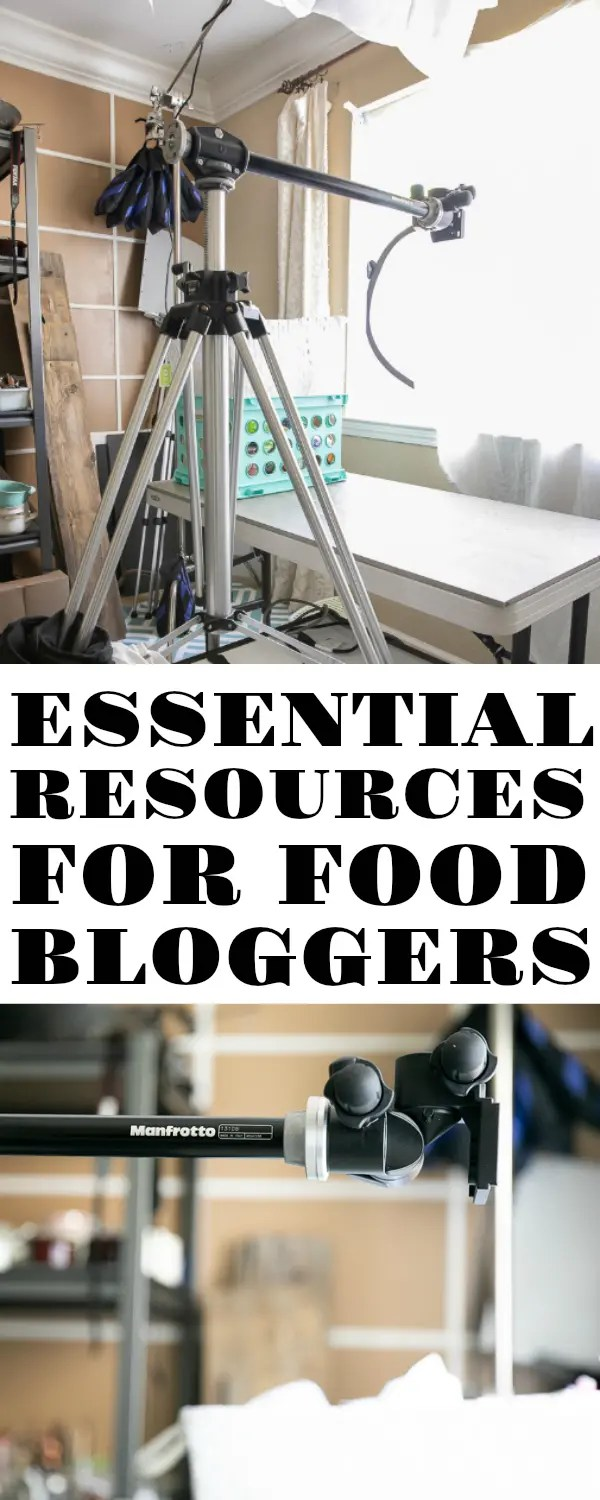 Essential Resources for Food Bloggers. Having been a full-time food blogger for a few years now, I thought it would be helpful to put together a page showcasing all the products and services that I use to keep this blog up and running. #foodphotography #foodblog #foodblogging #DIY #photography @theforkedspoon
