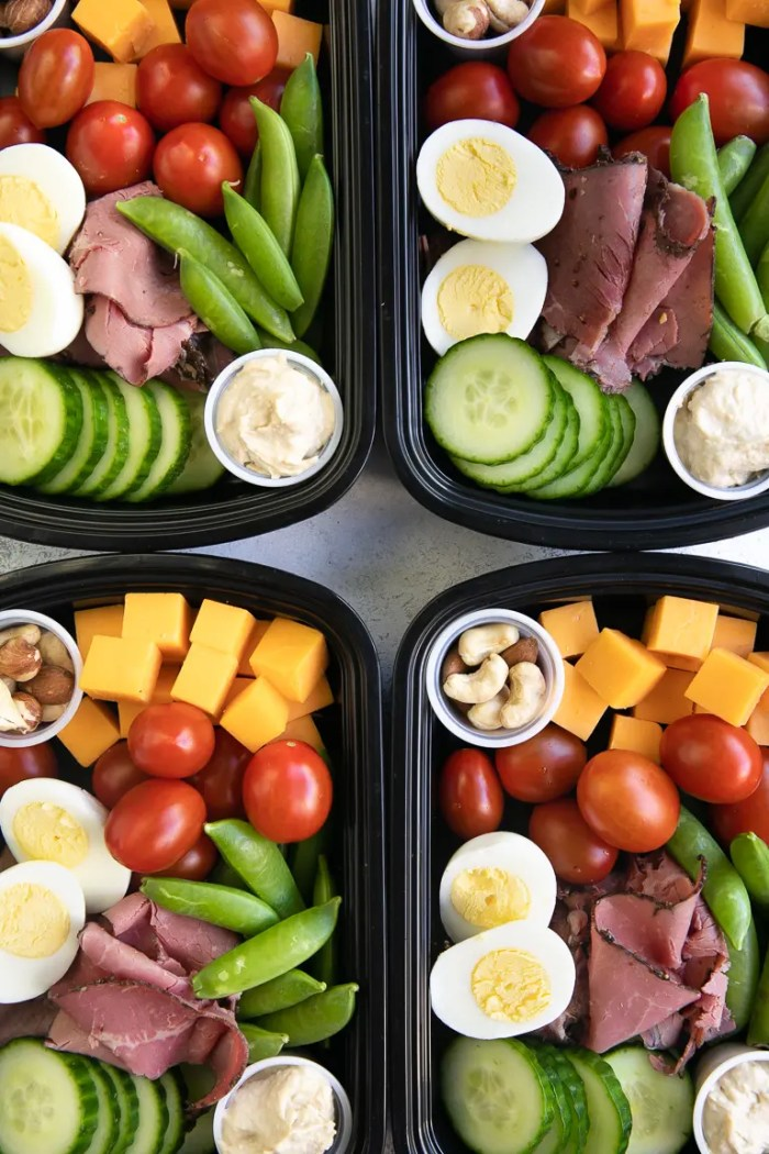 lunch meal prep for the week