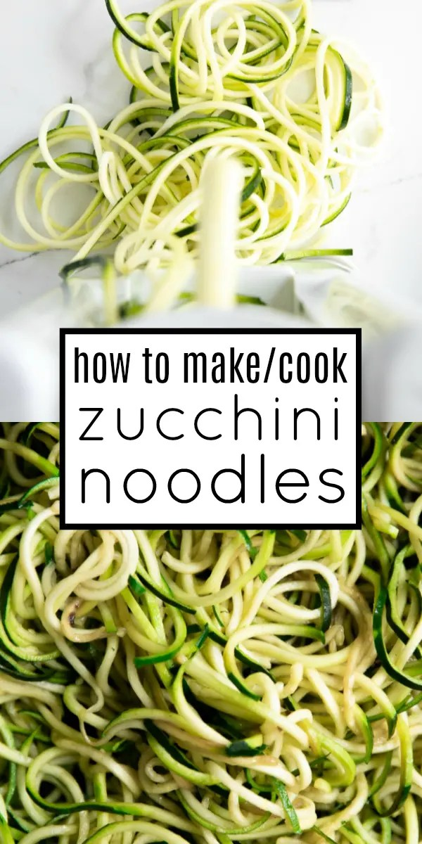 Zoodles Recipe (How to Cook Zucchini Noodles) #lowcarb #zucchininoodles #zoodles #glutenfree #zoodlerecipe #vegetarian
