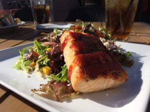 BBQ Salmon Salad Rhythm & Wine Scottsdale AZ