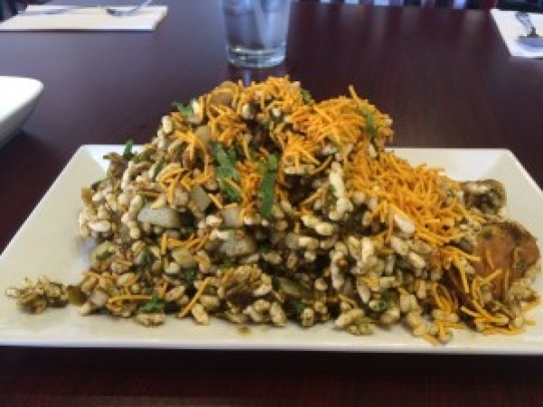 Bhel Puri from Saffron Authentic Indian Bistro Phoenix AZ