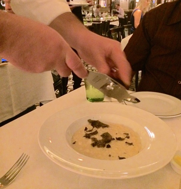 Fresh Truffle Risotto from DP Brasserie at the Venetian Las Vegas NV