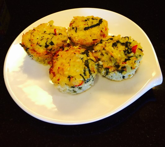 Easy Spinach Risotto Cakes