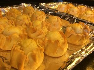Forking Fabulous Mini Potato Knishes
