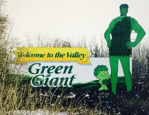 Green Giant Canned and Frozen Vegetables....went out of business some time ago because they were purchased by another company.