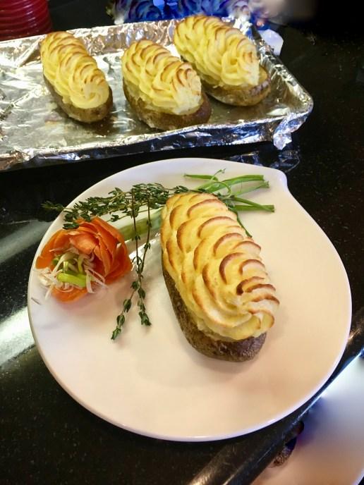 Duchess Style Stuffed Potatoes