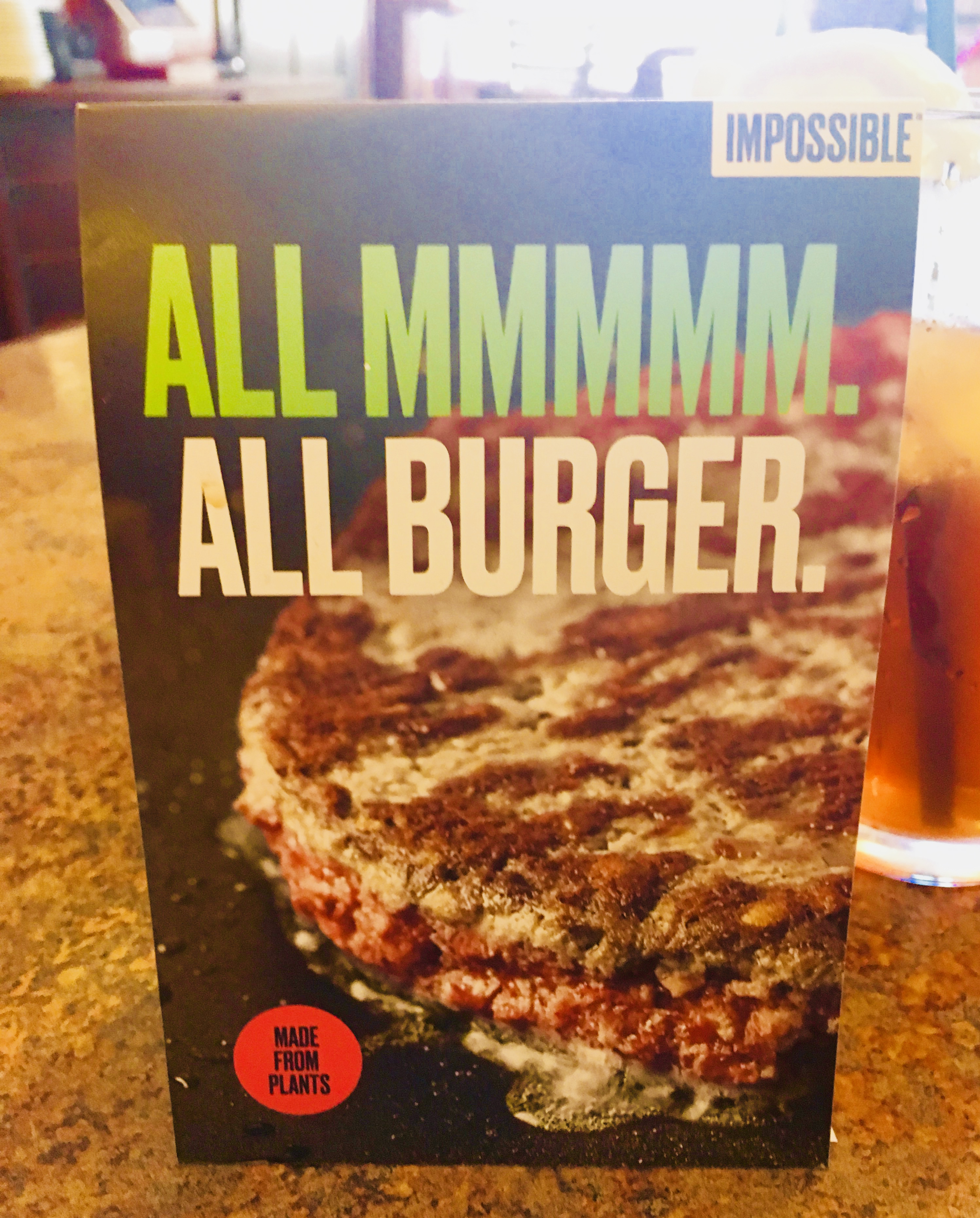 impossible burger metro