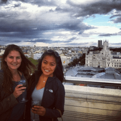 Rooftop bars in Madrid