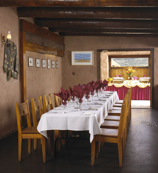 Private Dining  The Fort Restaurant