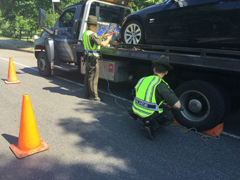 State Conducts Truck Pollution Prevention Pullover in Queens