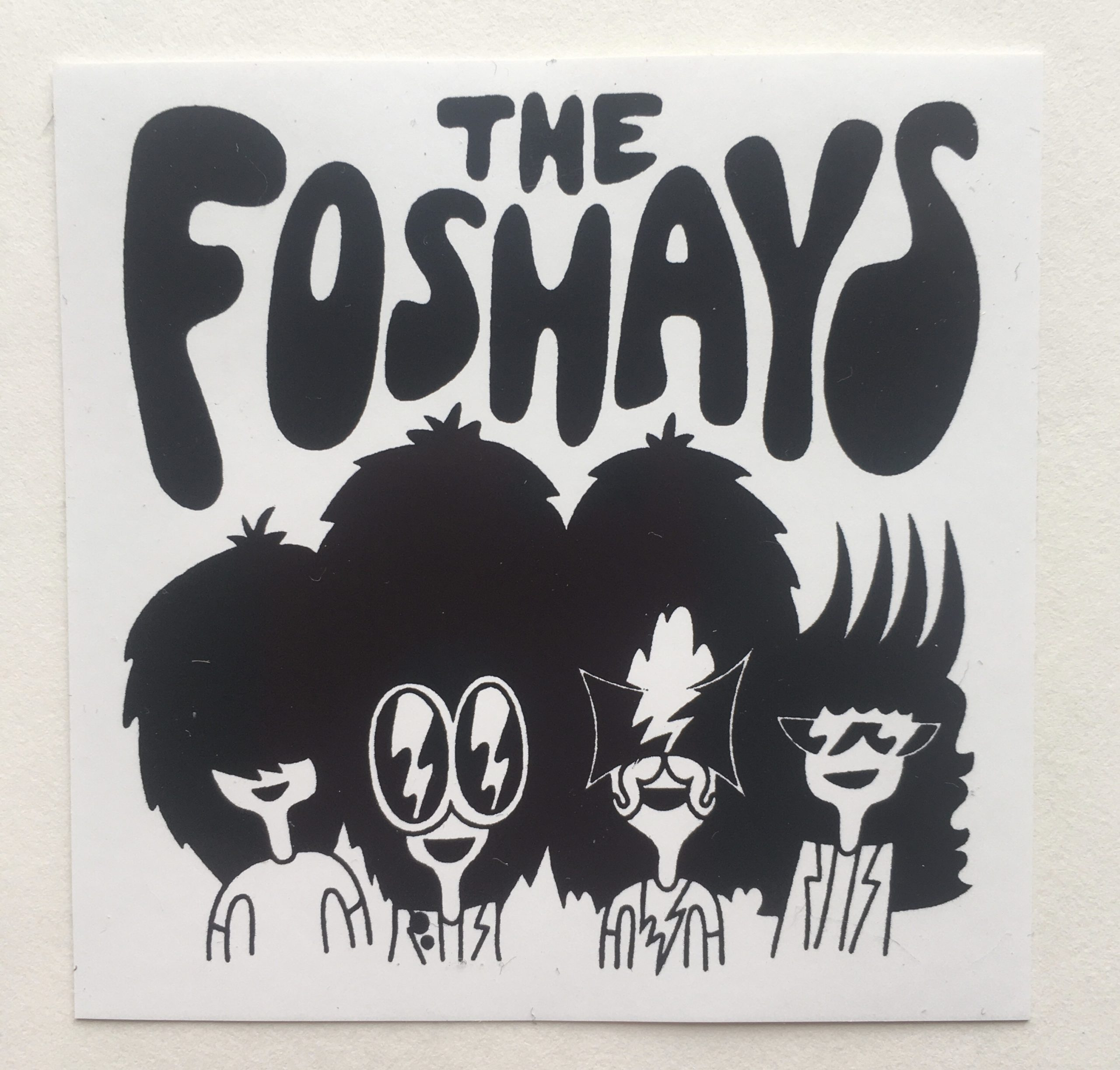The Foshays Sticker
