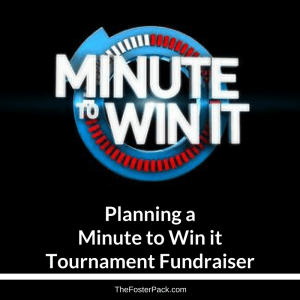 Planning a Minute to Win it Tournament Fundraiser