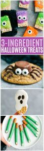 Easy 3 ingredient Halloween treats