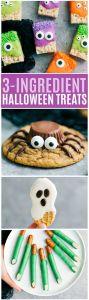 Easy 3 ingredient Halloween treats