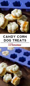 Candy corn dog treats