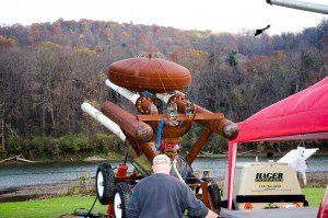 Pumpkin chucking cannon
