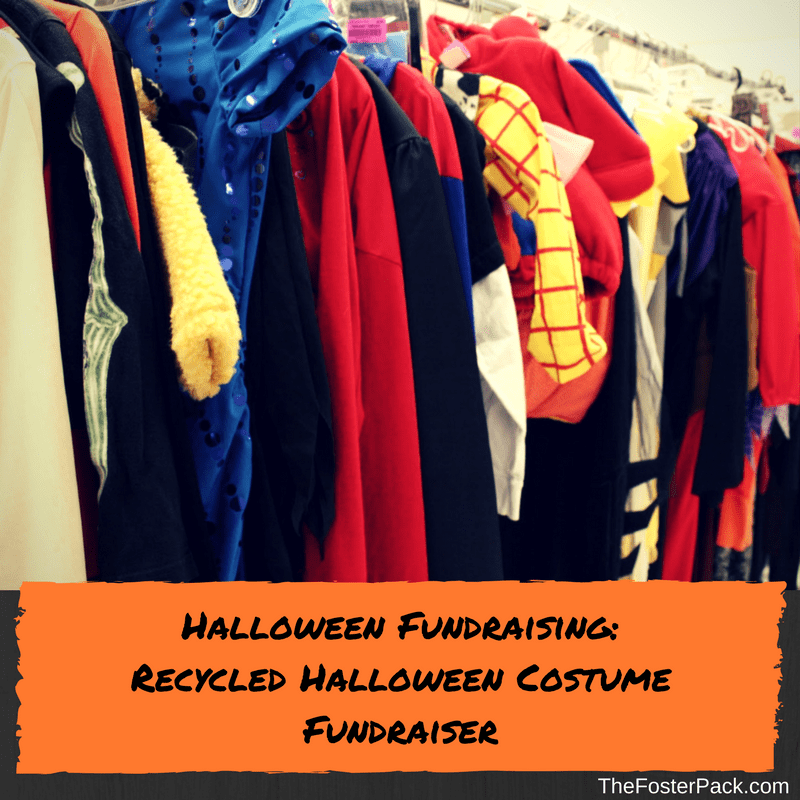Halloween Fundraising: Recycled Halloween Costume Fundraiser