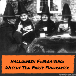 Halloween Fundraising: Witchy Tea Party Fundraiser