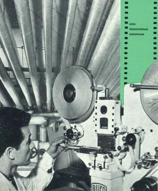 Production cinematographic film