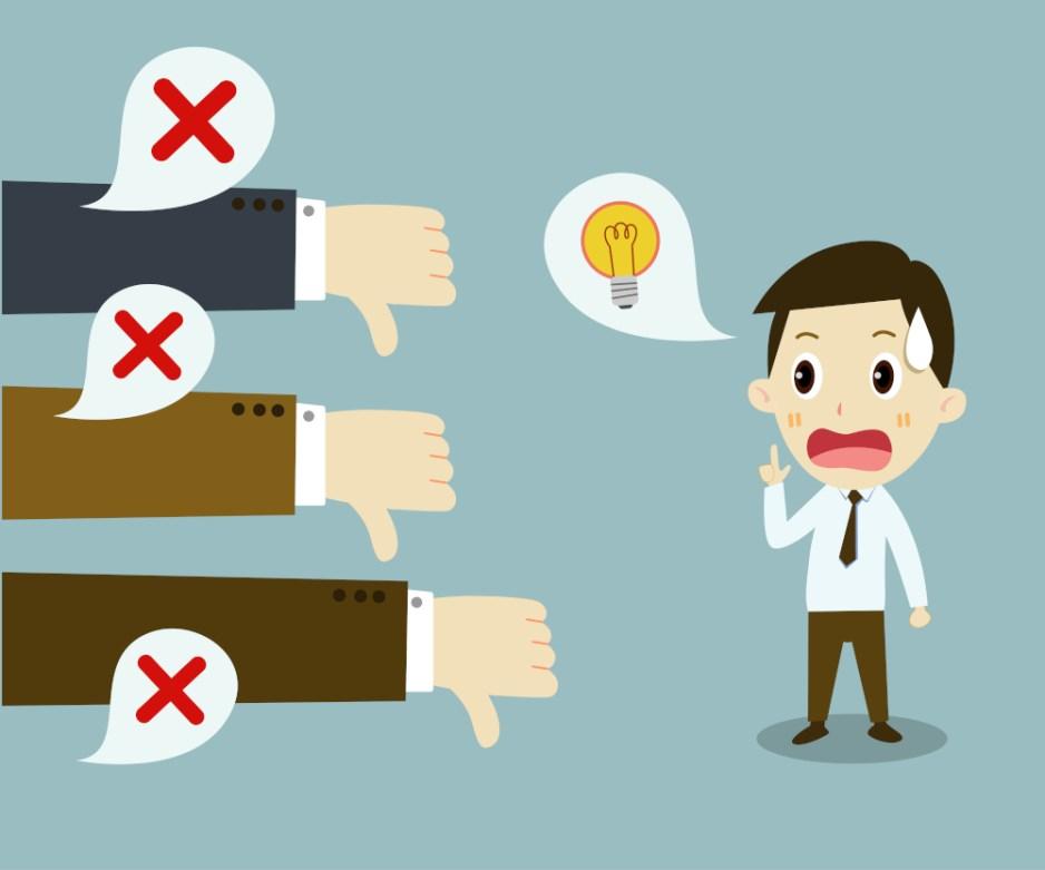 Why negative feedback rarely works