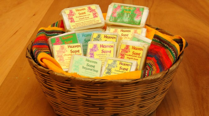 """Heaven Scent"" Natural Soaps"