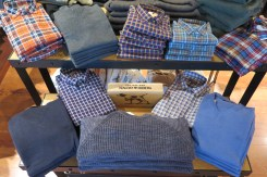 Rodd & Gunn men's sportswear offers modern fit, unique woven shirts, and chunky sweaters.